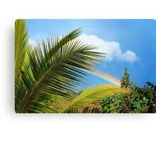 Tropical Rainbow Canvas Print