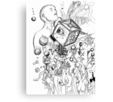A Natural Unatural Mind Canvas Print