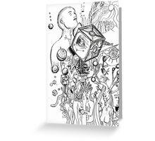 A Natural Unatural Mind Greeting Card