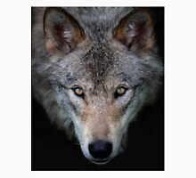"""""""All the better to see with, my child"""" Timber Wolf Unisex T-Shirt"""