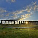 Yorkshire: Last Light at Ribblehead Viaduct by Rob Parsons