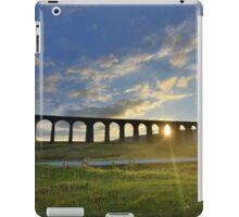 Yorkshire: Last Light at Ribblehead Viaduct iPad Case/Skin