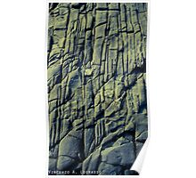 Eroded Rock Poster