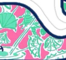 Lilly Vineyard Vines Whale Sticker