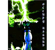 Occupy Asgard (REDBUBBLE Exclusive Variant) Photographic Print