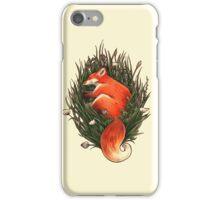 Fox in the Brush iPhone Case/Skin