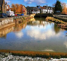 The River Leven at Great Ayton by Christine Smith