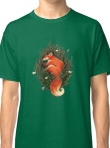 Fox in the Brush Classic T-Shirt