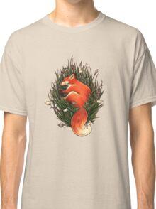 Fox in the Brush Classic T-Shirt