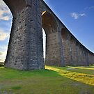 Yorkshire: Evening Light at Ribblehead by Rob Parsons