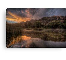 Sunset Smash Canvas Print
