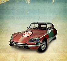 CITROEN DS NUMBER 23 by vinpez