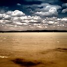 sky water clouds and waves by borjoz