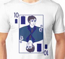 Ten of Tardis - White Unisex T-Shirt