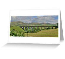 Yorkshire: Lowgill Viaduct Greeting Card