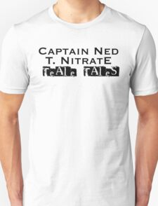 Teale Tales: Wyv Land of Magik Character T-Shirt - Captain Ned T Nitrate Unisex T-Shirt