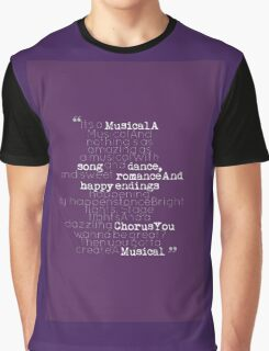It's a Musical Graphic T-Shirt