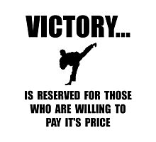 Victory Martial Arts Photographic Print