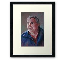Portrait of Ken Framed Print
