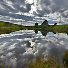 Yorkshire: Black Moss Tarn Reflections by Rob Parsons