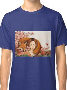 Red Fox Totem. Classic T-Shirt