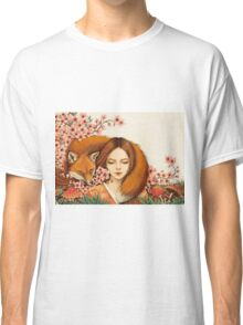 Red Fox Totem. Classic T-Shirt