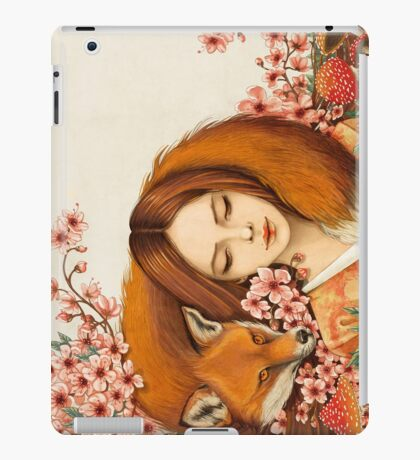Red Fox Totem. iPad Case/Skin