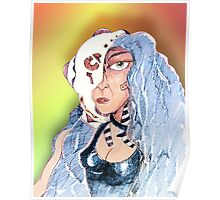 Cyborg Woman Poster