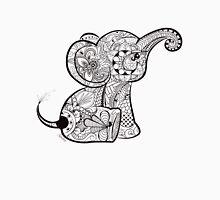 Baby Elephant Doodle Unisex T-Shirt
