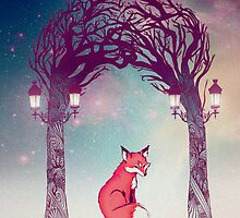 Fox in the Forest  by Danielle  Madrigal