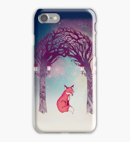 Fox in the Forest  iPhone Case/Skin