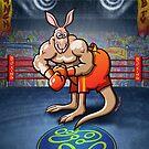 Olympic Boxing Kangaroo by Zoo-co