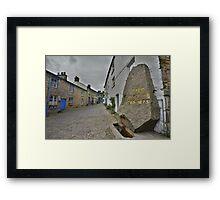 Yorkshire: The Village of Dent Framed Print