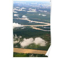 Borneo from the sky Poster
