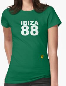 Ibiza 88 - Rave Veteran Womens Fitted T-Shirt