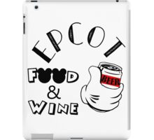 Epcot Food and Wine Festival - Beer iPad Case/Skin