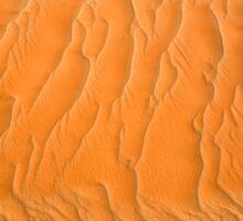 "Sand Sea ""ripples"" Sticker"
