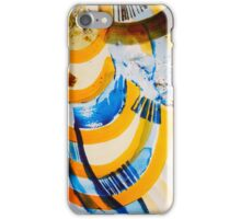 Abstract Beach iPhone Case/Skin