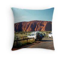Uluru (Ayres Rock). Northern Territory, Australia. Throw Pillow