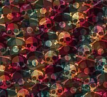 Skulls pattern by ashkenazigal