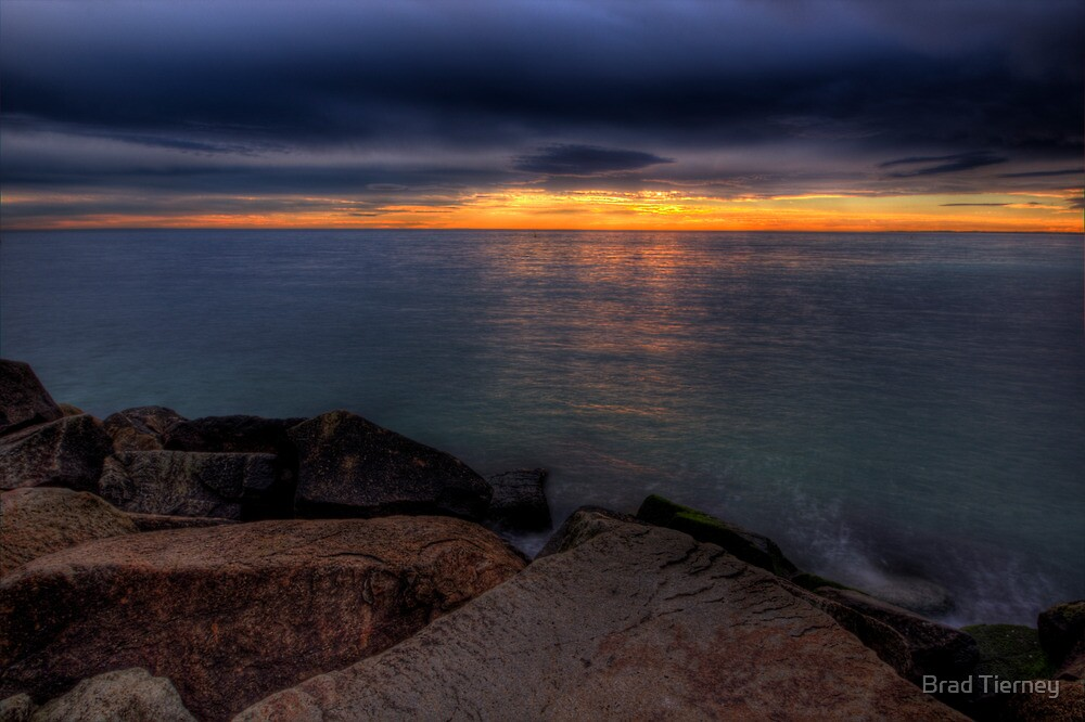 Rocky Sunset by Brad Tierney