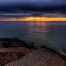 Rocky Sunset by Brad Tierney