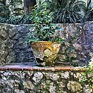 Stone Bench On Capri by phil decocco