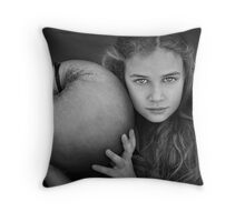 The Apple Throw Pillow