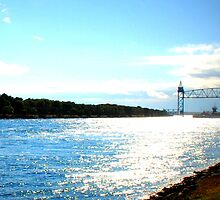Cape Cod Canal - Light off the Water by Erin O'Neill