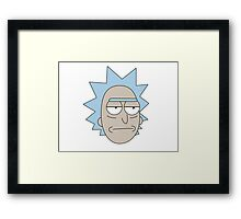 Rick - Rick and Morty Framed Print