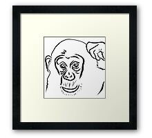 Year of the Monkey 2016 : Chinese Zodiac Sign  Framed Print