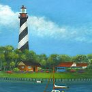 St. Augustine Lighthouse by Gordon  Beck