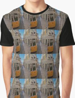 Ascensor da Bica furnicular, Lisbon Graphic T-Shirt