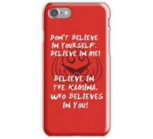 Kamina quote iPod case iPhone Case/Skin